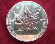 1 Oz Silber Maple Leaf 2018/19