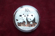 1 Oz Silber China Panda 2018